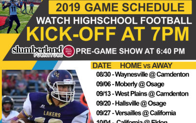 Lake TV Announces 2019 High-School Football Broadcast Schedule